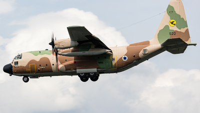 522 - Lockheed KC-130H Karnaf - Israel - Air Force