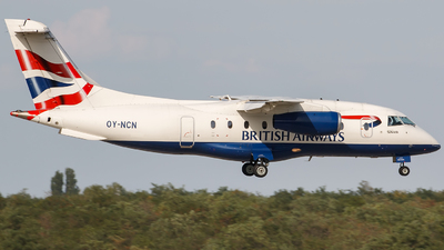 OY-NCN - Dornier Do-328-300 Jet - British Airways (Sun-Air)