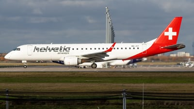 HB-JVT - Embraer 190-100LR - Helvetic Airways