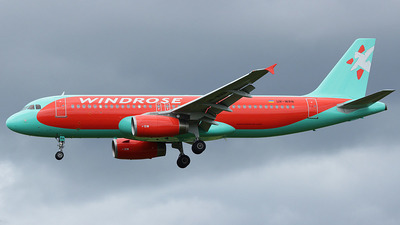 UR-WRN - Airbus A320-232 - Windrose Airlines