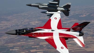 E-191 - General Dynamics F-16AM Fighting Falcon - Denmark - Air Force