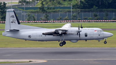 715 - Fokker 50MPA Enforcer Mk.2 - Singapore - Air Force