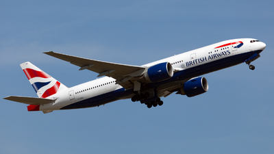 G-ZZZA - Boeing 777-236 - British Airways
