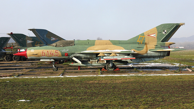 6145 - Mikoyan-Gurevich MiG-21bis SAU Fishbed N - Hungary - Air Force