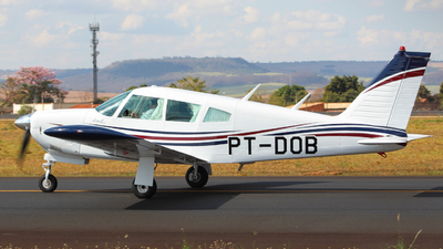 PT-DOB - Piper PA-28R-200 Cherokee Arrow - Aero Club - Batatais