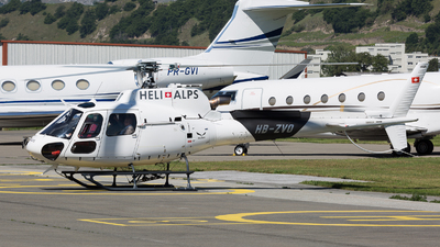 HB-ZVO - Airbus Helicopters H125 - Heli Alps