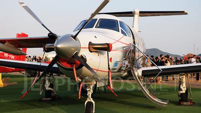 A picture of HBFVI - Pilatus PC12/47E - Pilatus Flugzeugwerke - © Jack  Li