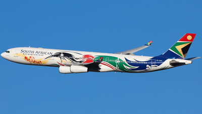 ZS-SXD - Airbus A340-313X - South African Airways