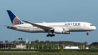 A picture of N28912 - Boeing 7878 Dreamliner - United Airlines - © Douwe C. van der Zee