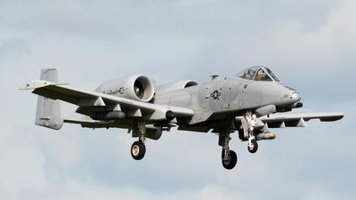 80-0221 - Fairchild OA-10A Thunderbolt II - United States - US Air Force (USAF)