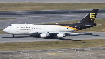 N581UP - Boeing 747-4R7F(SCD) - United Parcel Service (UPS)