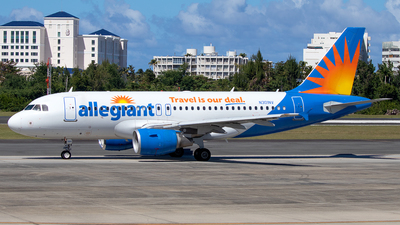 N301NV - Airbus A319-112 - Allegiant Air