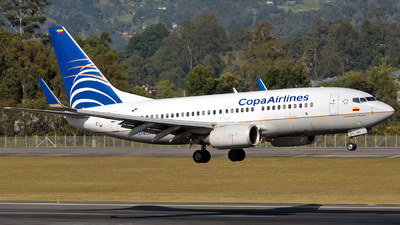 HP-1374CMP - Boeing 737-7V3 - Copa Airlines Colombia