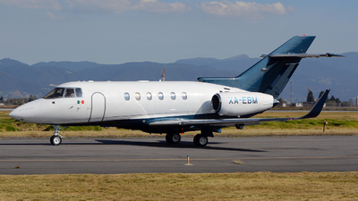 XA-EBM - Hawker Beechcraft 800XP - Private