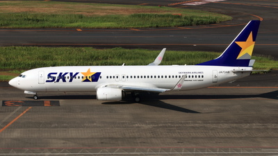 JA73AB - Boeing 737-8AL - Skymark Airlines