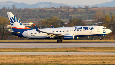 D-ASXV - Boeing 737-86Q - SunExpress Germany