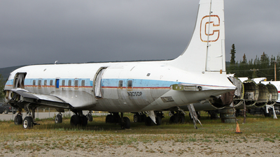 N3050P - Douglas DC-6A Liftmaster - Everts Air Cargo