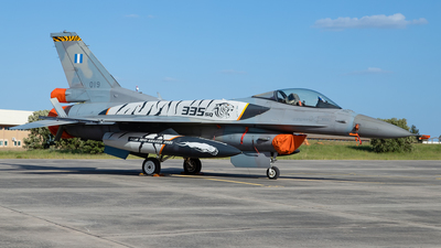 019 - Lockheed Martin F-16CJ Fighting Falcon - Greece - Air Force