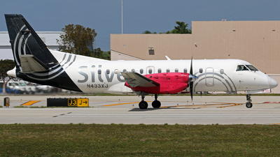 N433XJ - Saab 340B+ - Silver Airways