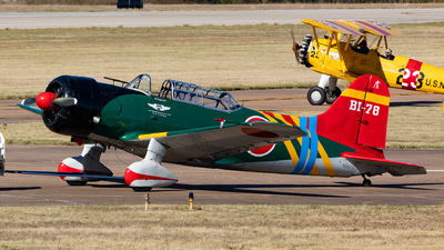 A picture of N56478 - Vultee BT13A Valiant - [7356] - © Sweet Potato