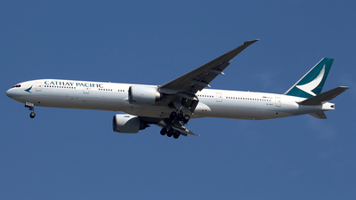 A picture of BKPY - Boeing 777367(ER) - Cathay Pacific - © Huy Do
