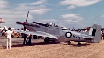 VH-AGJ - CAC CA-18 Mk.21 Mustang - Private