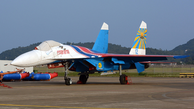 12 - Sukhoi Su-27 Flanker - Russia - Air Force