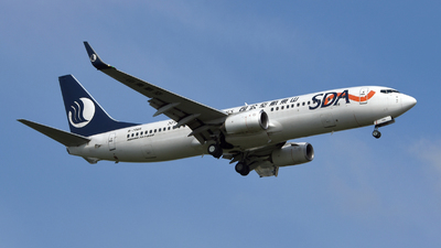 A picture of B7085 - Boeing 73785N - Shandong Airlines - © Bingolancer