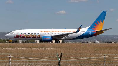 G-JZHN - Boeing 737-8MG - Jet2.com