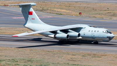 21043 - Ilyushin IL-76MD - China - Air Force