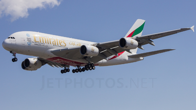 A6-EEH - Airbus A380-861 - Emirates