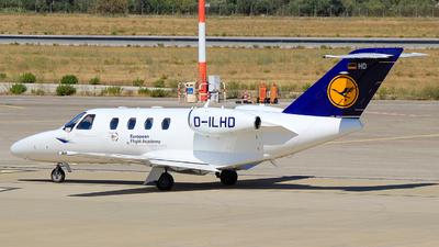 D-ILHD - Cessna 525 CitationJet 1 Plus - Lufthansa Flight Training