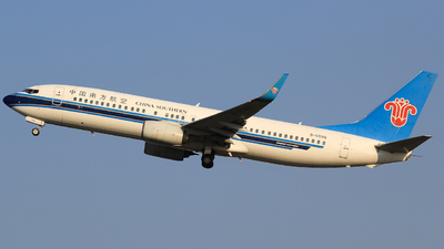 A picture of B5598 - Boeing 73786J - China Southern Airlines - © Flight Tuan