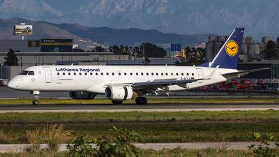 A picture of DAECA - Embraer E190LR - Lufthansa - © Manuel Llama - Benalmadena Spotters