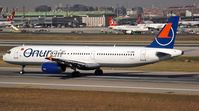 TC-OBK - Airbus A321-231 - Onur Air