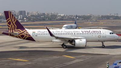 A picture of VTTNB - Airbus A320251N - Vistara - © Janam Parikh