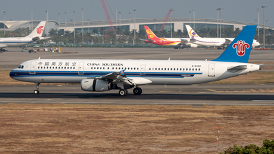 B-6389 - Airbus A321-231 - China Southern Airlines