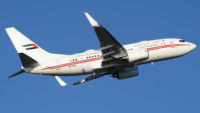 A6-HRS - Boeing 737-7E0(BBJ) - United Arab Emirates - Dubai Air Wing