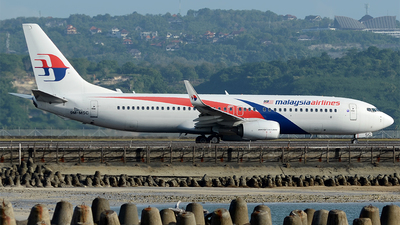 9M-MSC - Boeing 737-8H6 - Malaysia Airlines