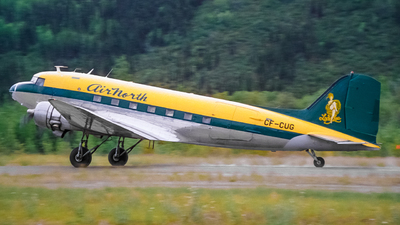 CF-CUG - Douglas DC-3C - Air North