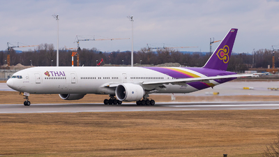 A picture of HSTKP - Boeing 7773AL(ER) - Thai Airways - © Marco Mochelato