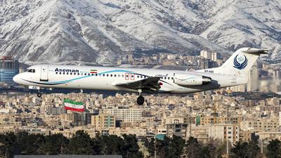 A picture of EPASI - Fokker 100 - Iran Aseman Airlines - © DARA ZARBAF