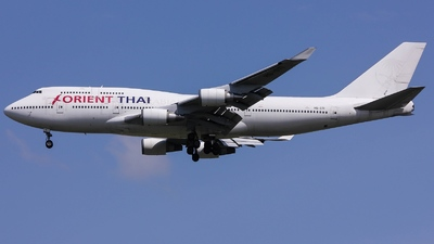 A picture of HSSTI - Boeing 7474Q8 - [28194] - © Thanat Trangratanachit
