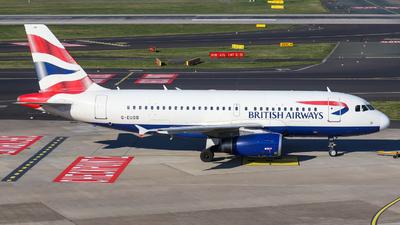 G-EUOB - Airbus A319-131 - British Airways