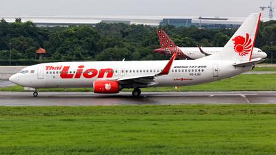 HS-LUJ - Boeing 737-8GP - Thai Lion Air