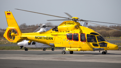 D-HNHD - Eurocopter EC 155 B1 - Northern Helicopter