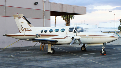 A picture of N421CL - Cessna 421B - [421B0480] - © C. v. Grinsven
