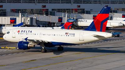 A picture of N354NB - Airbus A319114 - Delta Air Lines - © Lynn Aisin-Gioro