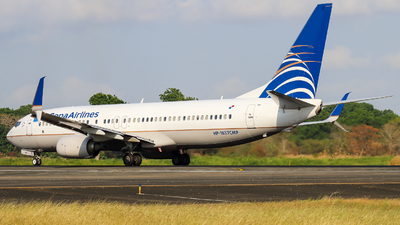A picture of HP1857CMP - Boeing 7378V3 - Copa Airlines - © Alexis Navarro