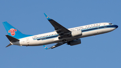 A picture of B5445 - Boeing 73781B - China Southern Airlines - © XPHNGB